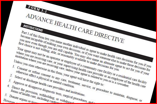 AdvancedHealthCareDirective